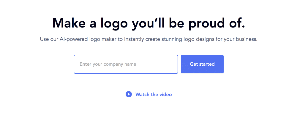 Logojoy Review What's Your Name?