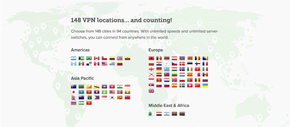 Express VPN Review Locations