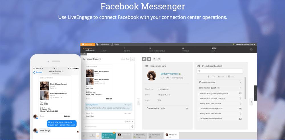 LivePersonFacebook