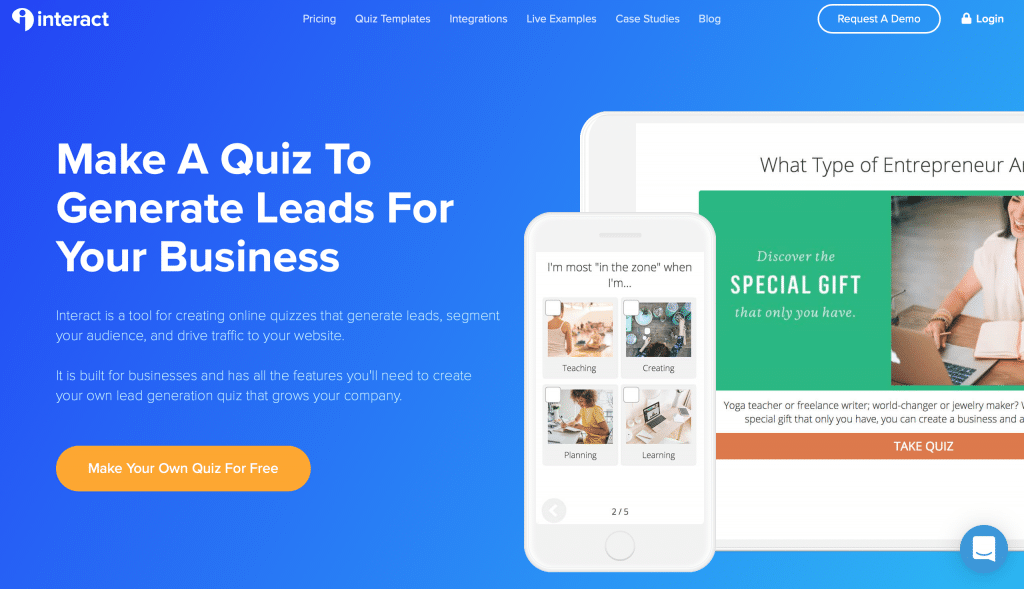 quiz builder tools