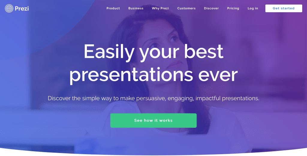 Presentations tools