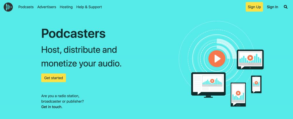 Audioboom podcast hosting